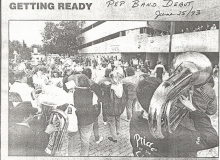 1. June 25 1993 - Pep Band Debut