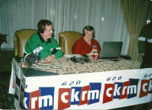 CKRM with Willie Cole.jpg