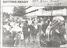 1. June 25 1993 - Pep Band Debut
