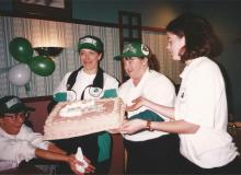 18. Heather and Sandra celebrate their birthdays